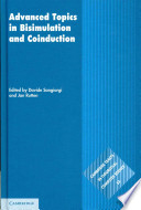 Advanced Topics In Bisimulation And Coinduction