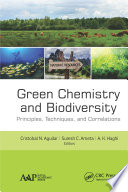 Green Chemistry and Biodiversity Book