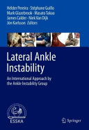 Lateral Ankle Instability Book