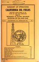 Summary of Operations  California Oil Fields