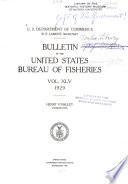 Bulletin of the Bureau of Fisheries