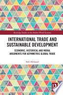 International Trade and Sustainable Development