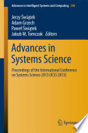 Advances In Systems Science Book PDF