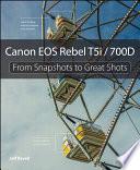 Canon EOS Rebel T5i   700D Book PDF