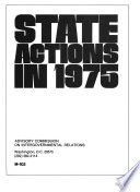 State Actions Book PDF