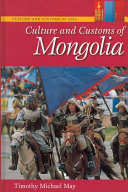 Culture and Customs of Mongolia Book PDF