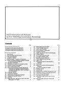 Implementation of Actions by the     Representative Assembly