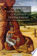 Access to Language and Cognitive Development