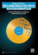 Bobby Owsinski s Deconstructed Hits  Modern Rock   Country