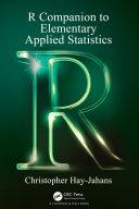 R Companion to Elementary Applied Statistics [Pdf/ePub] eBook
