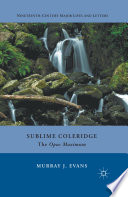 Sublime Coleridge