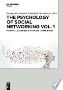 The Psychology of Social Networking Vol 1