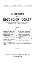 El Monitor de la Educaci  n Com  n