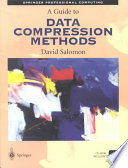 A Guide to Data Compression Methods Book