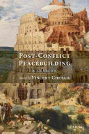 Post-conflict peacebuilding