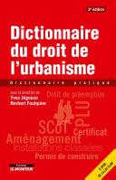 Pdf Dictionnaire du droit de l'urbanisme Telecharger