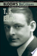 T  S  Eliot Book