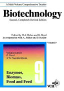Biotechnology Enzymes Biomass Food And Feed Book PDF
