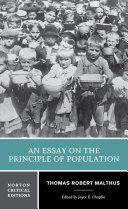 An Essay on the Principle of Population (Norton Critical Editions) Pdf/ePub eBook