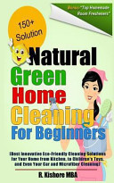 Natural Green Home Cleaning for Beginners
