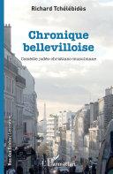 Pdf Chronique bellevilloise Telecharger