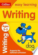 Collins Easy Learning Preschool - Writing Ages 3-5: New Edition