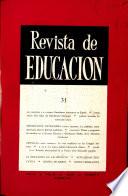 Revista de educación nº 31
