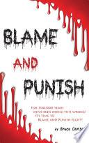 Blame and Punish