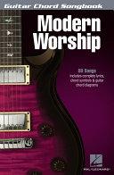 Modern Worship - Guitar Chord Songbook