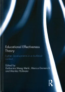 Educational Effectiveness Theory