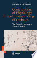 Contributions of Physiology to the Understanding of Diabetes