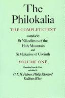 The Philokalia Volume 1