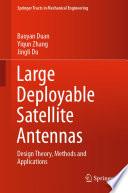 Large Deployable Satellite Antennas Book