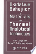Oxidative Behavior of Materials by Thermal Analytical Techniques