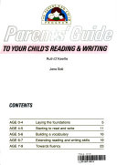 Parents Guide To Your Child S Reading And Writing