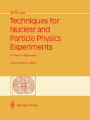 Pdf Techniques for Nuclear and Particle Physics Experiments