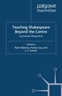 Teaching Shakespeare Beyond the Centre Pdf/ePub eBook