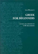 L A  Wilding s Greek for Beginners