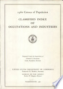 Classified Index of Occupations and Industries