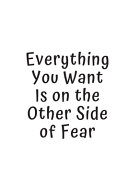 Everything You Want Is on the Other Side of Fear Book PDF