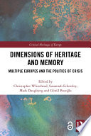 Dimensions Of Heritage And Memory Book PDF