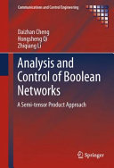 Analysis and Control of Boolean Networks