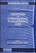 Frontiers of Computational Fluid Dynamics 1994 Book