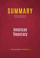 Summary: American Theocracy