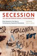 Secession as an International Phenomenon Pdf/ePub eBook