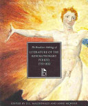 The Broadview Anthology of Literature of the Revolutionary Period 1770-1832