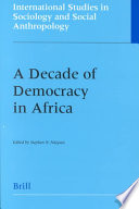 A Decade Of Democracy In Africa