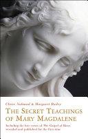 The Secret Teachings of Mary Magdalene Pdf/ePub eBook