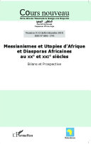 Pdf Messianismes et Utopies d'Afrique et Diasporas Africaines au XXe et XXIe siècles Telecharger