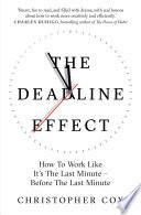 The Deadline Effect Book